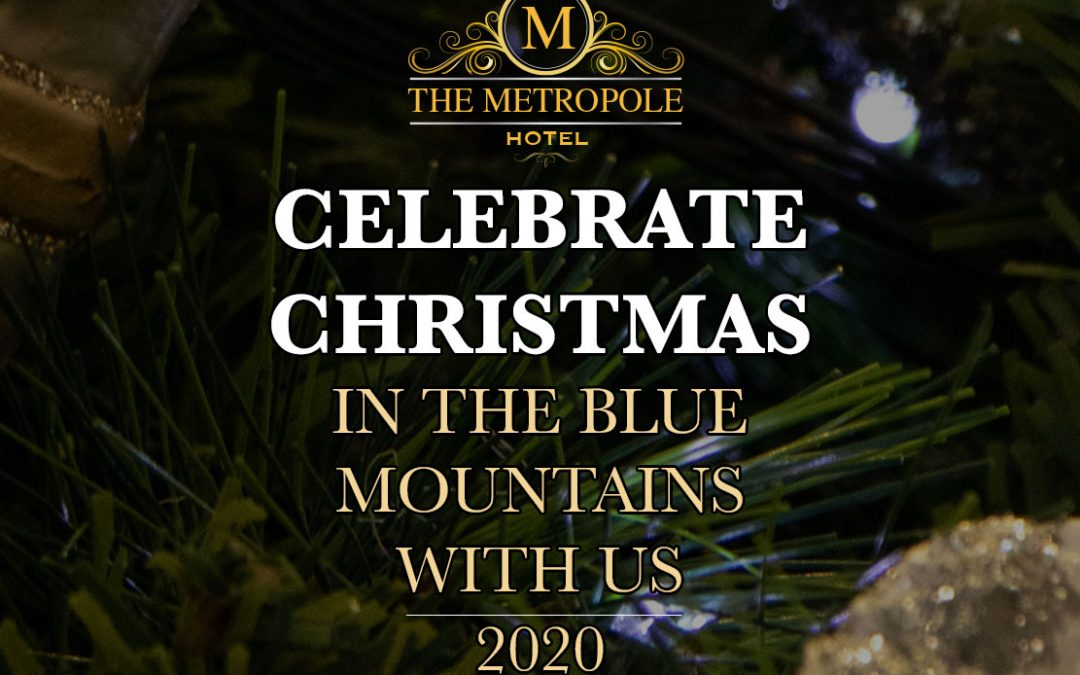 Celebrate Christmas with us at the Metropole